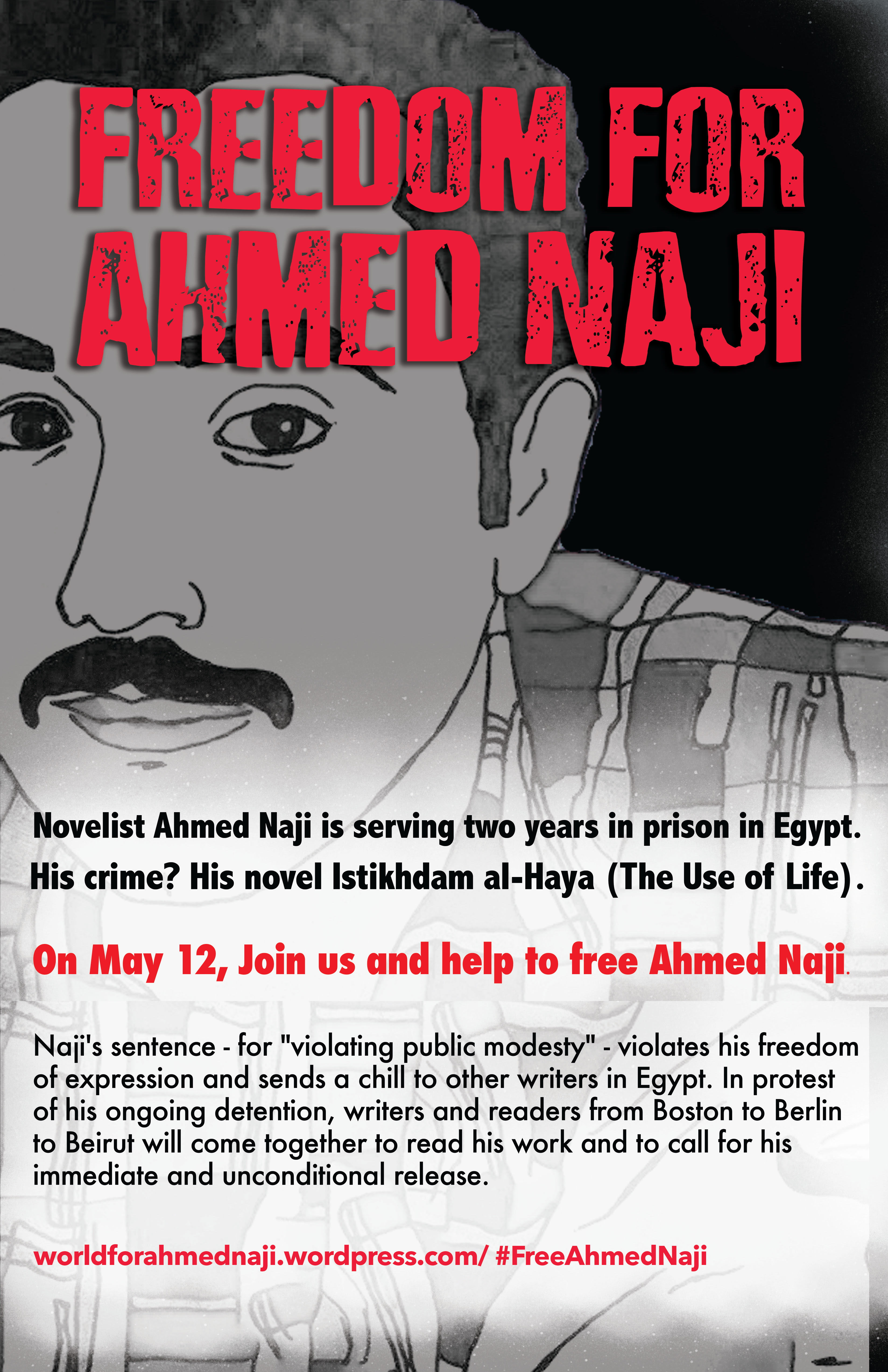 Freedom for Ahmed Naji - The Tahrir Institute for Middle East Policy